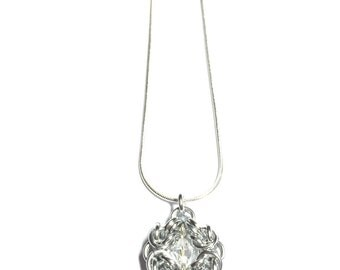 Romanov Pendant Necklace with Swarovski Crystal