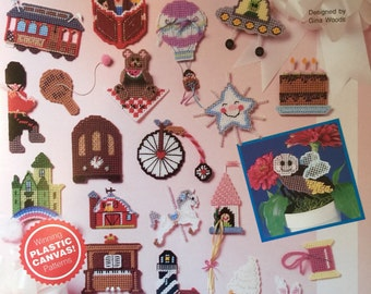 Needlecraft Shop Merry Little Things Plastic Canvas Pattern by Gina Woods #903901