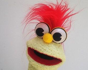 Sock Puppet Hand Puppet - Red hair Hand Puppet