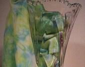 scarf, green silk scarf, handmade, silk scarf, summer, scarves, hand dyed silk scarf, green, silk scarf, blue, scarf silk, scarf, silk green