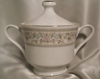 Empress China Japan Arcadia Pattern 1015 Sugar Bowl Vintage