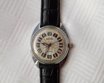 Vostok watch, Soviet watch, Mens watch, minimalist watch, USSR watch