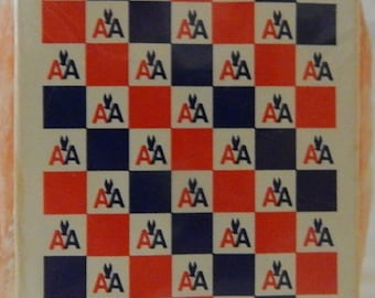 Vintage Sealed Deck of American Airlines Playing Cards