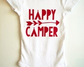 Red Happy Camper ONESIE ®, Camping...