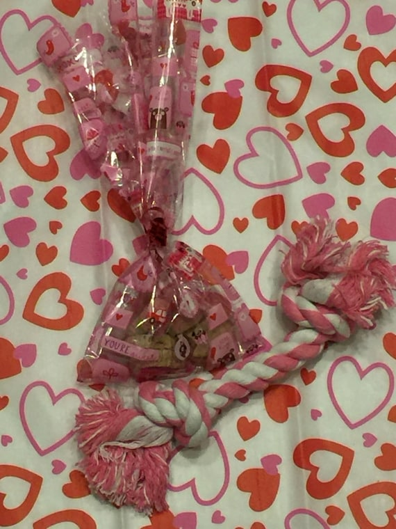 Valentine S Day Dog Treats And Toy Bundle From Pet Partee Dog