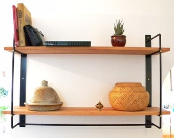 Mdt mobilier loved by 148 etsy shoppers handmade hunt - Etagere murale pour cd ...