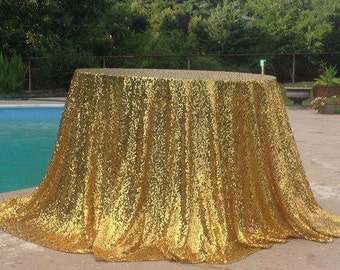 gold sequin table cloth tablecloth wedding table overlay gold sequence hollywood party