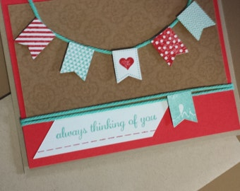 "Cheerful ""thinking of you"" card for any occasion!"