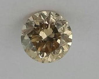 0.94 ct champagne color diamond,free shipping