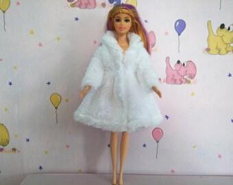 Barbie doll clothes, Barbie fur coat, barbie clothes, Barbie jacket, Barbie coat, Barbie doll, Barbie fashion, Barbie clothing, doll coat