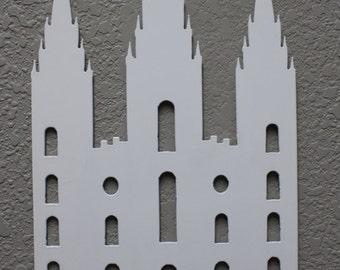 Metal Salt Lake City Temple, LDS Temple, Mormon Temple
