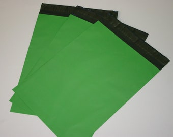 25 9x12 Poly Mailers Spring Green Saint Patrick's Day Self Sealing Envelopes Shipping Bags Spring Easter