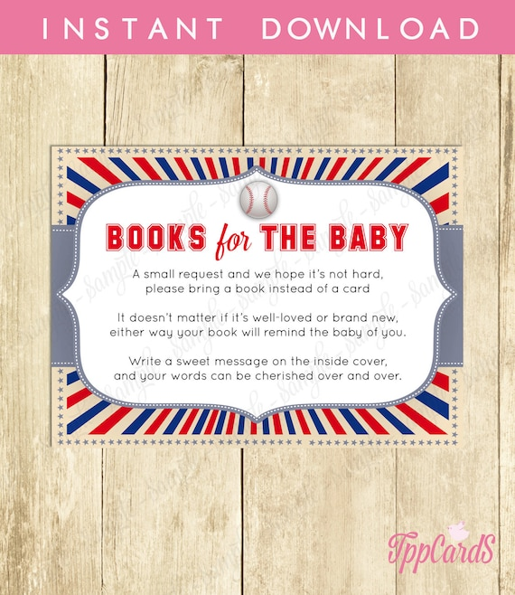 Bring a book baby shower invitation insert instead of a card stock il570xn filmwisefo