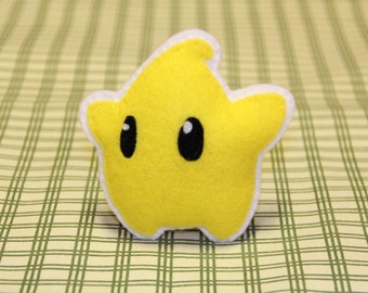 "Fridge Magnet! Mario Galaxy ""Luma"""