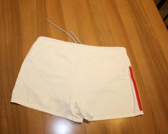 PRADA swimwear for men in white polyester, size 50