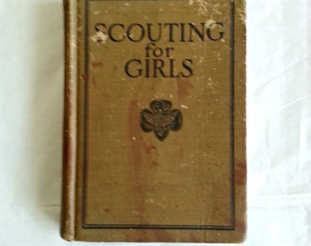 Scouting for Girls - Girl Scout Handbook, 1926
