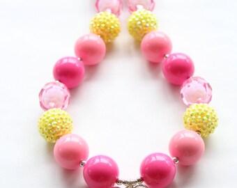 Butterfly Bubblegum Necklace