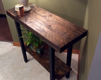 Entry way table, foyer table, console table, side table