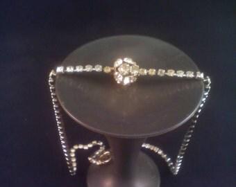 SALE! Rhinestone orb necklace