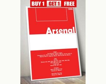Arsenal, The Gunners, Arsenal prints, Arsenal artwork