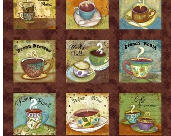 Coffee House - Panel - Clothworks by Sue Zipkin