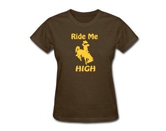 Ladies -RIDE ME HIGH- Widespread Panic T-shirt
