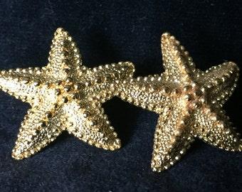Monet Starfish Earrings