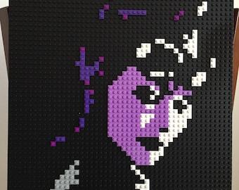 Catwoman Lego Mosaic