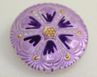 Czech Glass Button 27mm