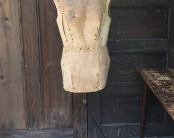 Antique Paper Dress Form