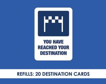 Refills for GPS Pack Nav magic trick