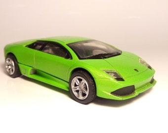 Silicone Mold 3D Lamborghini Murcielago Car mould  fondant chocolate cake candle fimo