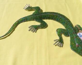 Beaded Gecko Large