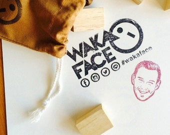 Wakaface Personalised Face Stamp