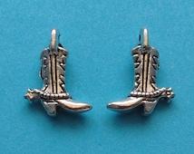10 pc Cowboy Boot Silver Cowboy Spur Boot - CS2257