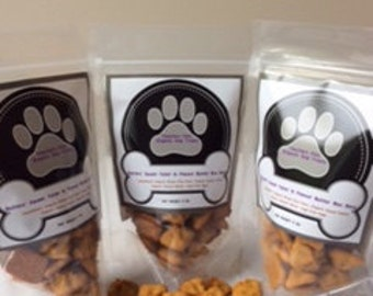 Organic Dog Treats - Butters Sweet Tater & Peanut Butter Bon Bons