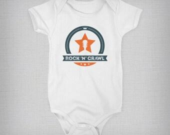 Baby Onesie, Music Onesie, Guitar Onesie, Rock Onesie, Funny Baby Onesie, Baby Boy, Baby Girl, Baby Gift, Retro Onesie, Retro Baby Clothes