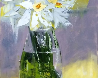 Jonquils on Table