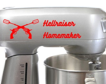 Hellraiser Home Maker Mixer Decal - FREE US SHIPPING