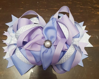 Bowtique Bow Shades of Purple
