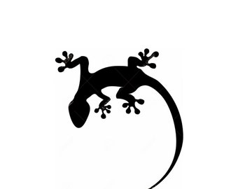Lizard-Gecko Stencil Made from 4 Ply Mat Board