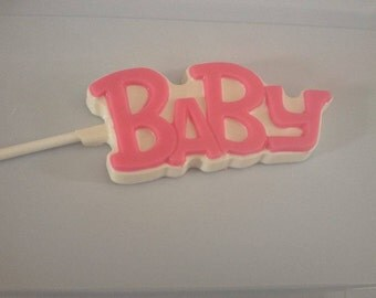 Baby chocolate lollipops - 1 dozen