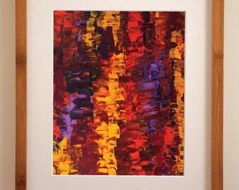 Incendi, Original Abstract Art