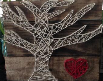 Rustic Love Tree