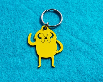 Jake the Dog Keychain - Adventure Time Inspired
