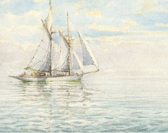 fore-and-aft schooner