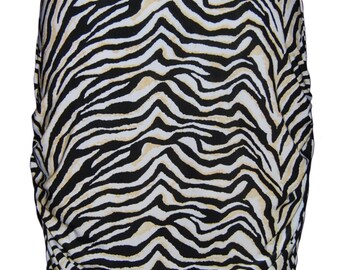 Zebra print stretch skirt SALE