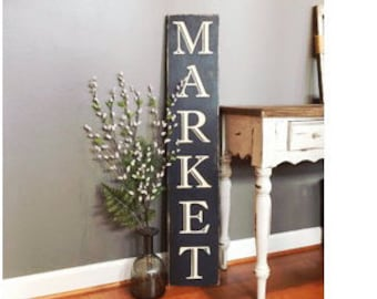 Farmhouse Sign - Market Sign - Wood Sign - Kitchen Decor