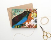 Bird Art Stationery Cards / Notecards / Blank Note Cards / 4 x 6 Note Cards / Blank Greeting Card / Blank Cards and Envelopes