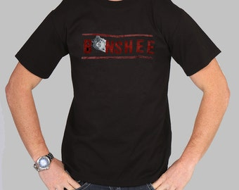 Banshee Sheriff Style Logo Tv Series Show Inspired T-shirt. Male and Female Apparel